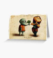 Love Es Strange Greeting Card