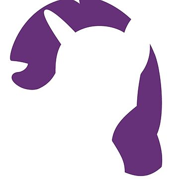 Rarity head silhouette by Band1t