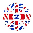 British Israeli Multinational Patriot Flag Series by Carbon-Fibre Media