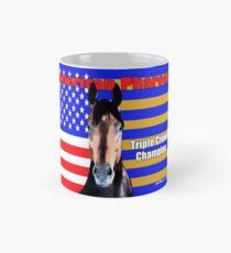 American Pharoah Portrait Mug