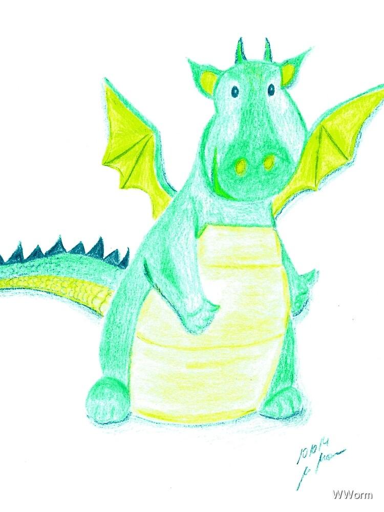 Little Dragon ~ Kleiner Drache by WWorm