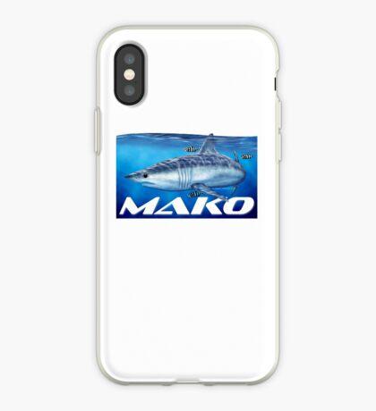 Mako shark iPhone Case