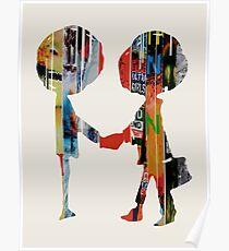 Radiohead-Alben Poster