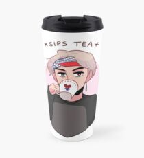 MIC DROP: V SIPPIN TEA Travel Mug