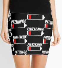 Low Patience Gift  Mini Skirt