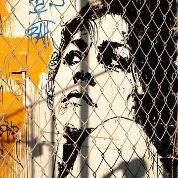 woman graffiti by erozzz