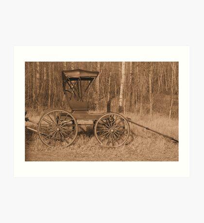 """A Classy Ride"" - Classic Passenger Buggy Art Print"