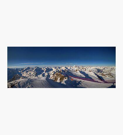 Alpine Skiing Photographic Print