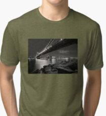 Sleepless Nights And City Lights Tri-blend T-Shirt