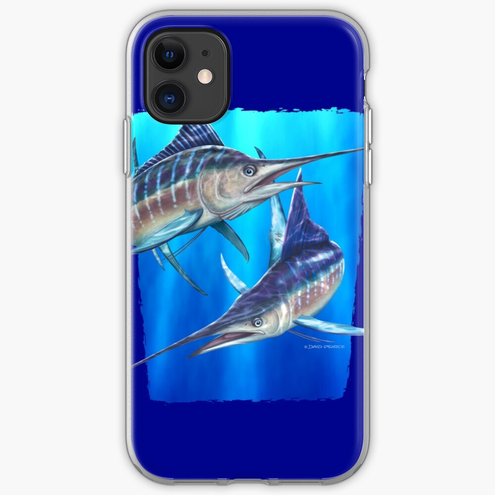 Striped Marlin iPhone Soft Case