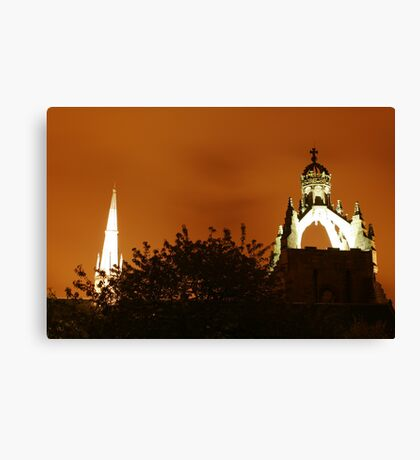 Night in Old Aberdeen Canvas Print