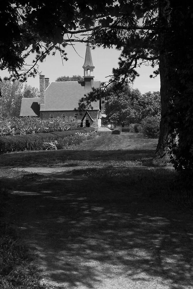 Strolling through Grand Pre by Harv Churchill
