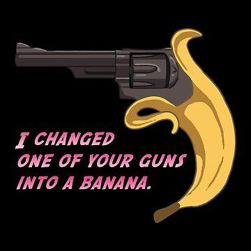 Jojo Banana Gun de hrubiks