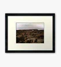 Twilight Grasslands Framed Print