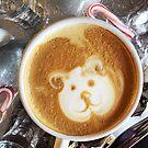 Polar Bear Latte Art by carlacardello