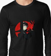 The Joker (Persona) in Smash Ultimate Long Sleeve T-Shirt