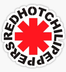 Red Hot Chilli Peppers Sticker