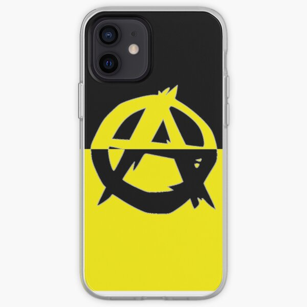 Voluntaryism is Anarchy iPhone Soft Case