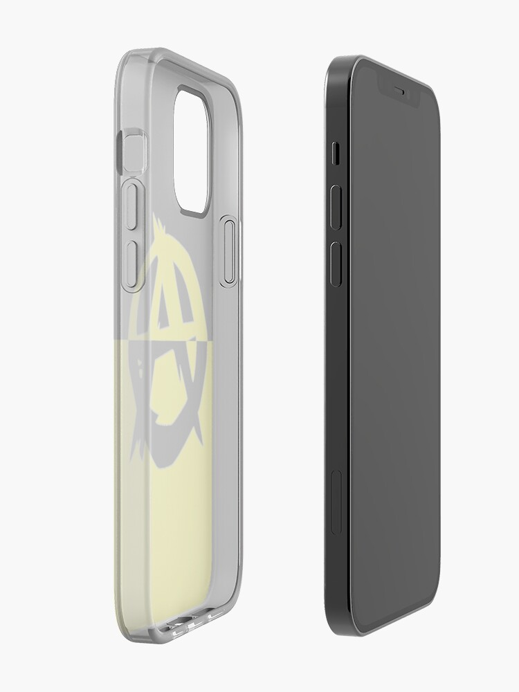 Alternate view of Voluntaryism is Anarchy iPhone Case & Cover