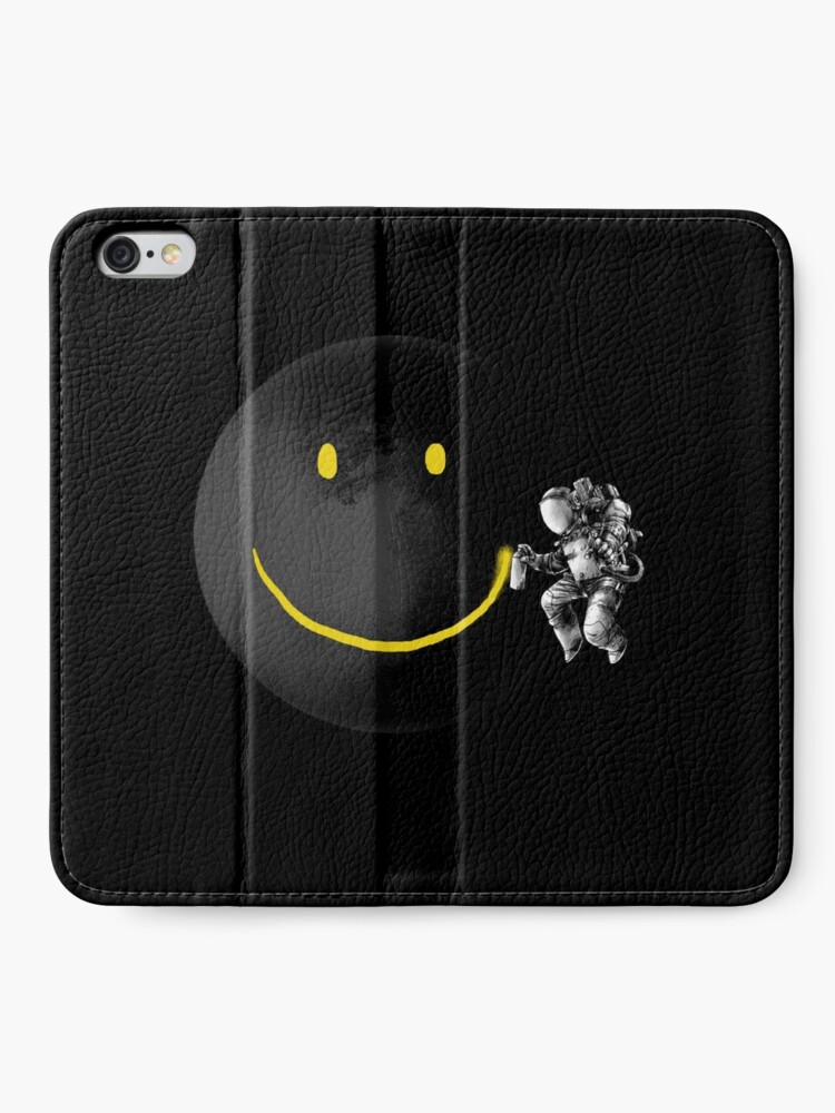 Alternate view of Make a Smile iPhone Wallet