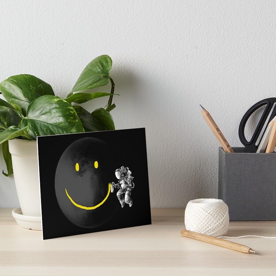 Make a Smile Art Board Print