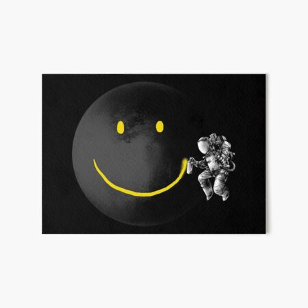 Make a Smile Art Board Print