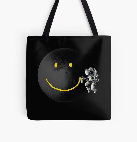 Make a Smile All Over Print Tote Bag