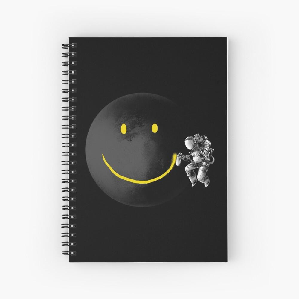 Make a Smile Spiral Notebook