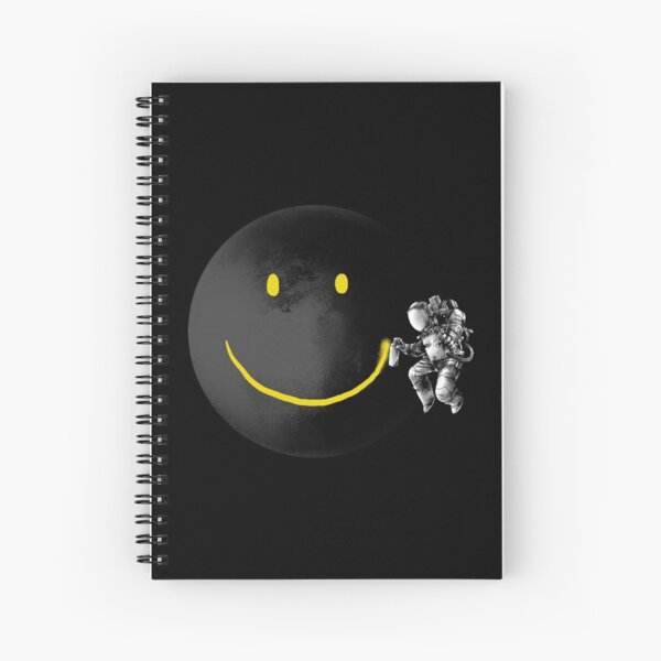 Make a Smile Spiral Notebook