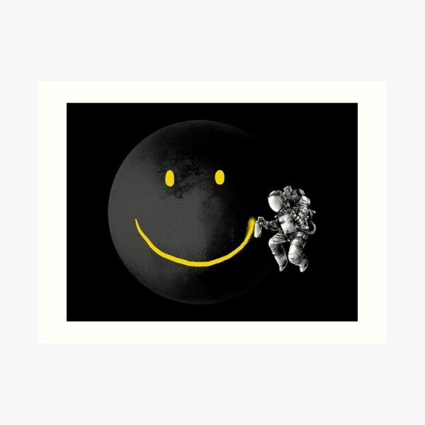 Hacer una sonrisa Lámina artística
