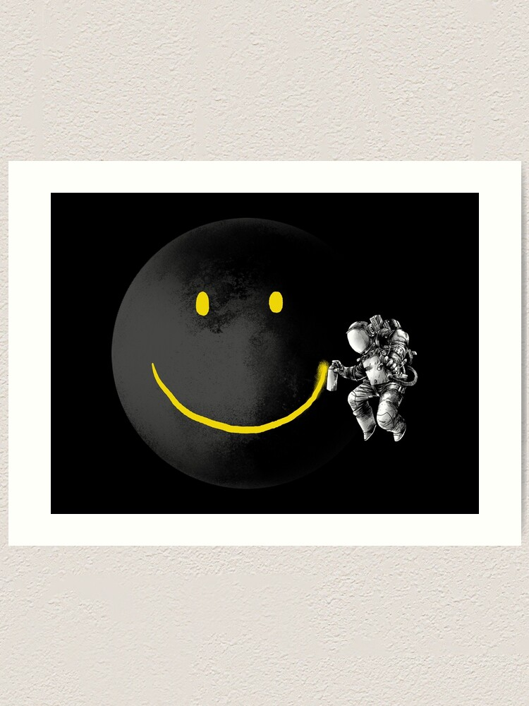 Alternate view of Make a Smile Art Print