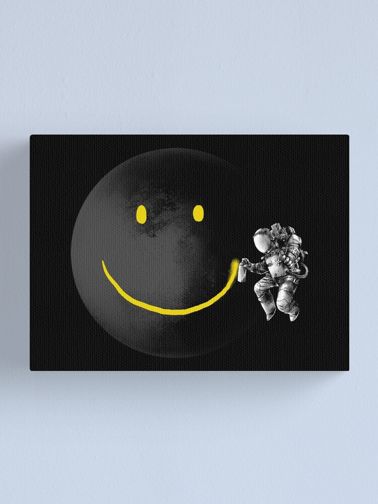 Alternate view of Make a Smile Canvas Print