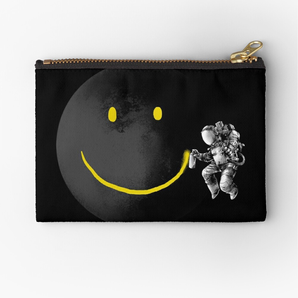 Make a Smile Zipper Pouch