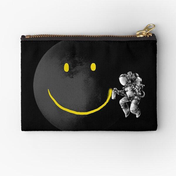 Make a Smile Zipper Pouch