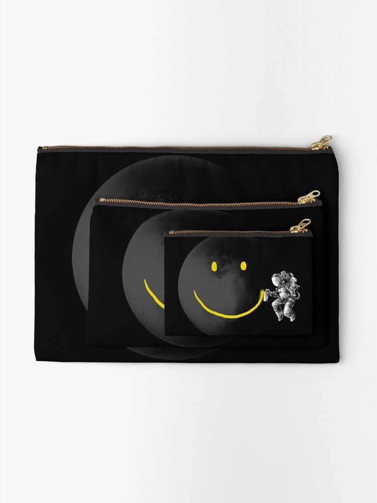 Alternate view of Make a Smile Zipper Pouch
