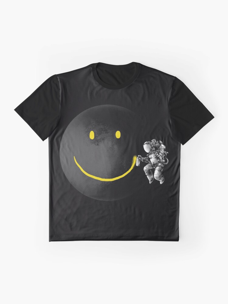 Alternate view of Make a Smile Graphic T-Shirt