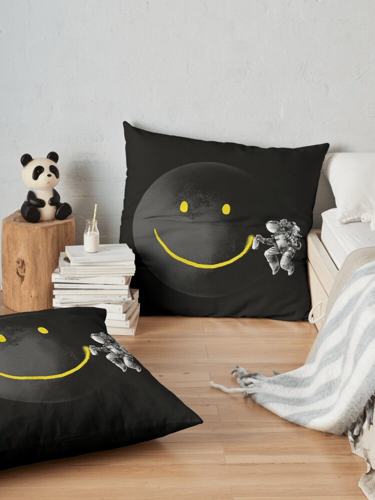 Alternate view of Make a Smile Floor Pillow