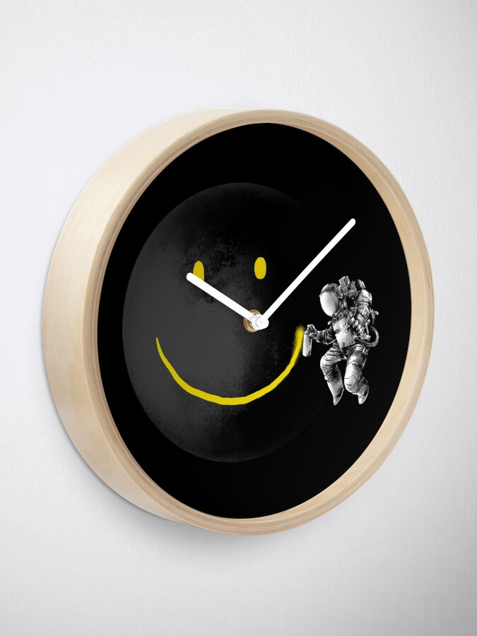 Alternate view of Make a Smile Clock