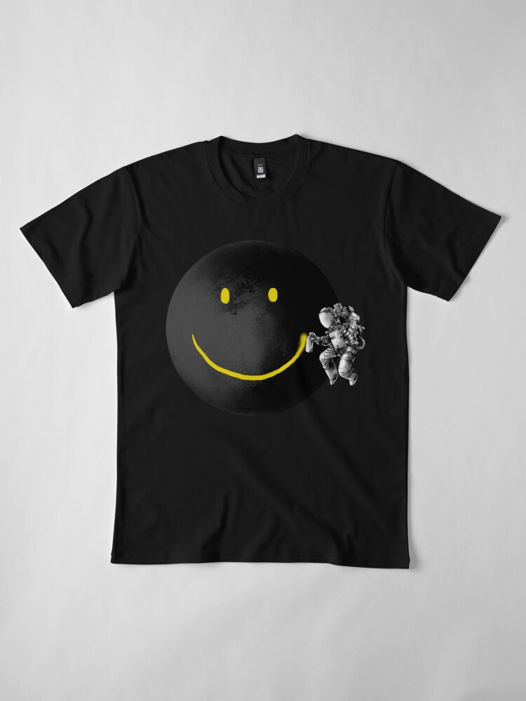 Alternate view of Make a Smile Premium T-Shirt