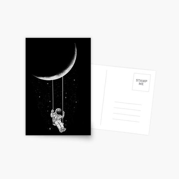 Moon Swing Postcard