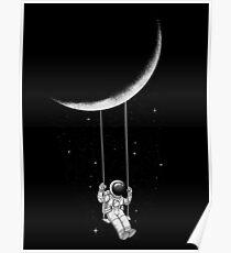 Mondschaukel Poster