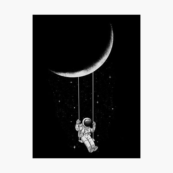 Mondschaukel Fotodruck