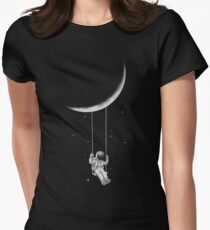 Moon Swing Women's Fitted T-Shirt