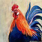 Rooster by Julie Ann Accornero