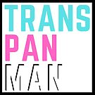 """Trans Pan Man"" - in white by FinnFace"