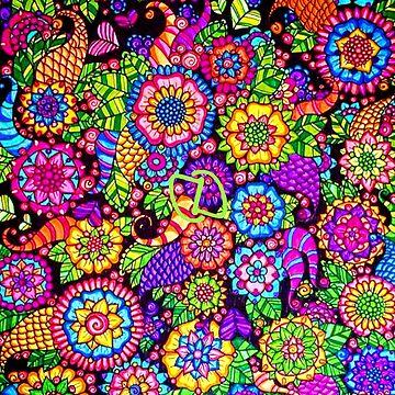 Flowerdelic by DahnDahlas