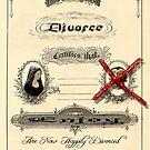 Divorce Certificate by GothCardz