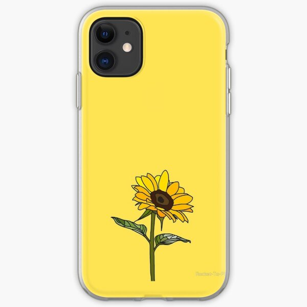 Aesthetic Sunflower iPhone Soft Case