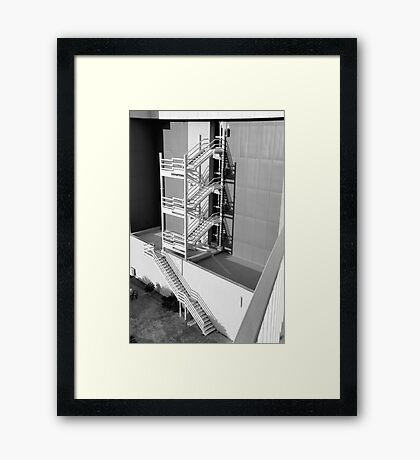 Escape To The Sun Framed Print