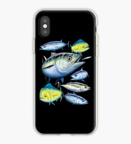 Mixed Tuna & Mahi Mahi iPhone Case